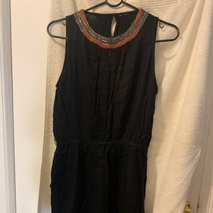 Mango Black summer dress